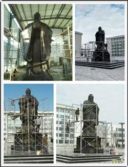 大型BB官网铜像