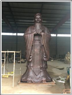 曲阜BB官网铜像